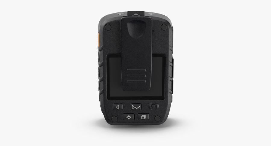 Body Cam royalty-free 3d model - Preview no. 5