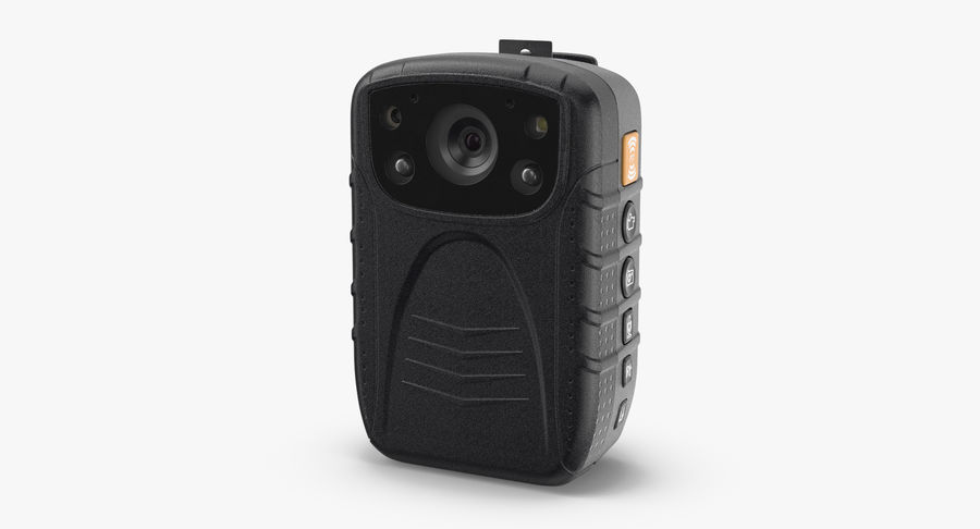 Body Cam royalty-free 3d model - Preview no. 3