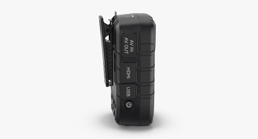 Body Cam royalty-free 3d model - Preview no. 6