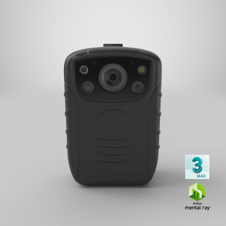Body Cam royalty-free 3d model - Preview no. 24