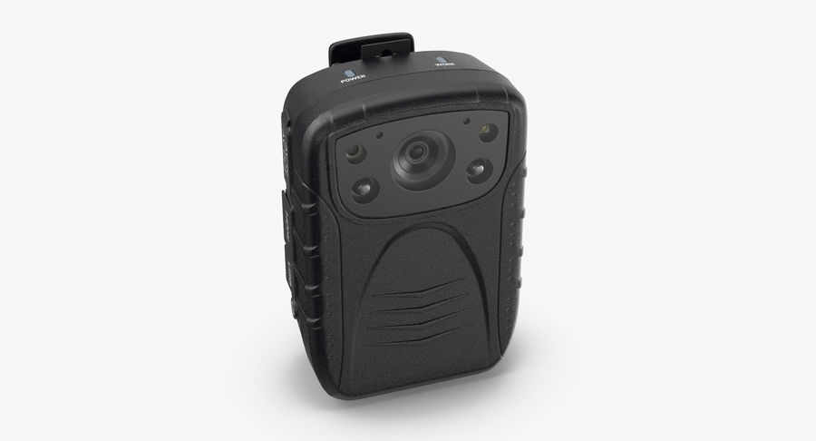 Body Cam royalty-free 3d model - Preview no. 7