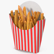 Pommes frites 6 3d model