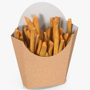 Pommes frites 7 3d model