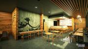 Restauracja Sushi 3d model
