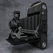 Macchina fotografica vintage 3d model