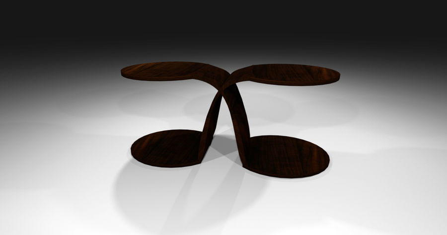 Laurian Table royalty-free 3d model - Preview no. 5