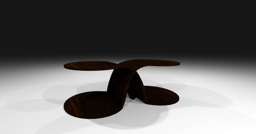 Laurian Table royalty-free 3d model - Preview no. 14