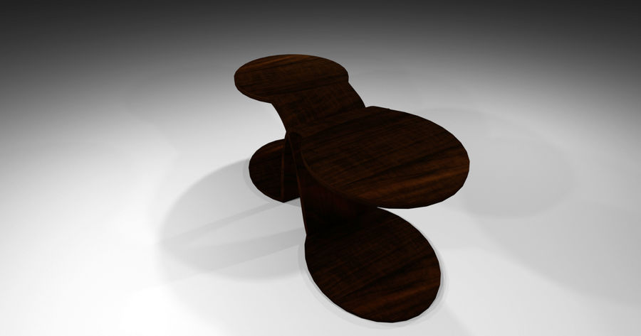 Laurian Table royalty-free 3d model - Preview no. 6