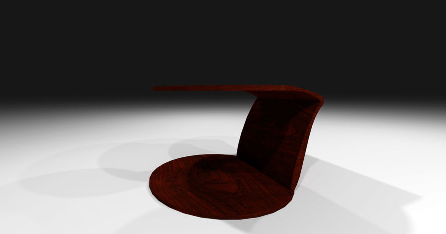 Laurian Table royalty-free 3d model - Preview no. 9