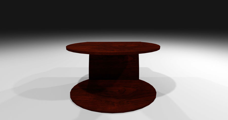Laurian Table royalty-free 3d model - Preview no. 7