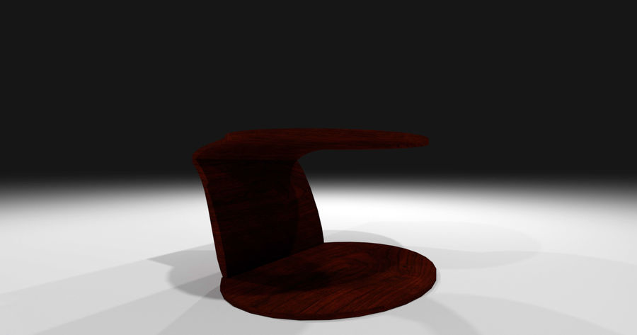 Laurian Table royalty-free 3d model - Preview no. 13