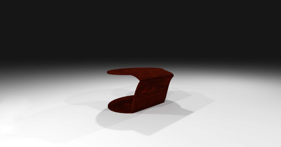 Laurian Table royalty-free 3d model - Preview no. 10