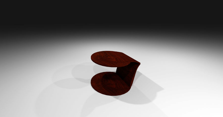 Laurian Table royalty-free 3d model - Preview no. 12