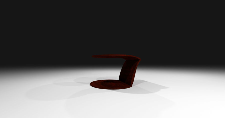 Laurian Table royalty-free 3d model - Preview no. 11