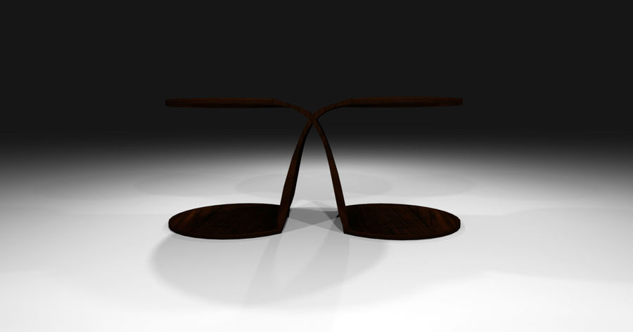 Laurian Table royalty-free 3d model - Preview no. 4