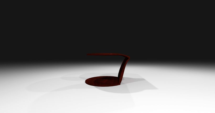 Laurian Table royalty-free 3d model - Preview no. 2