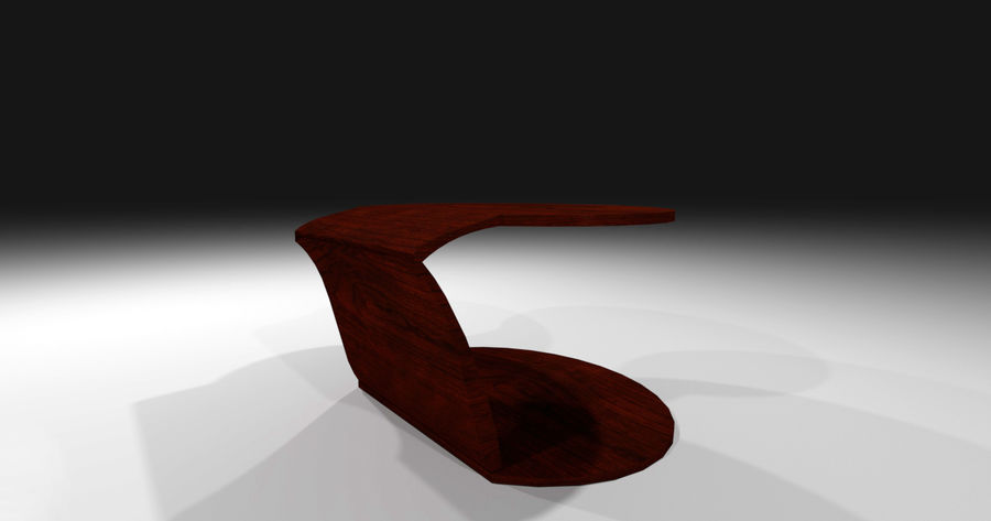 Laurian Table royalty-free 3d model - Preview no. 8