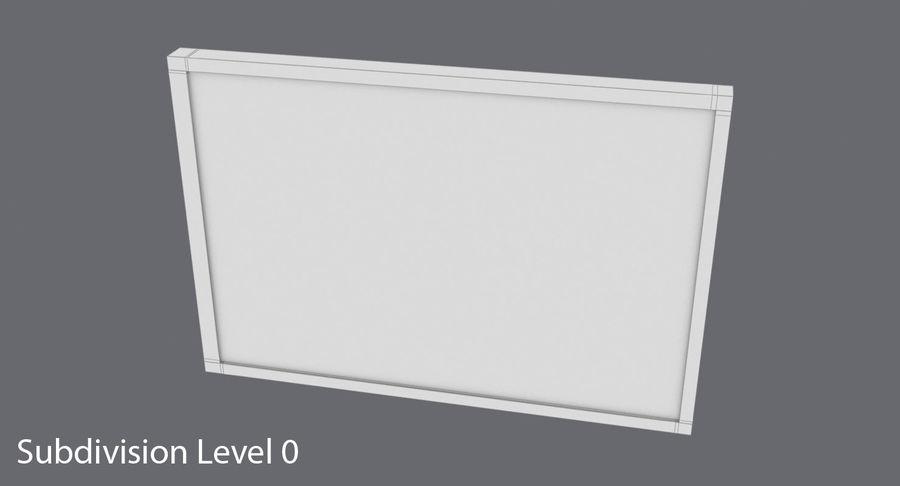 Nieuwe vluchtinformatie tekentekst royalty-free 3d model - Preview no. 14