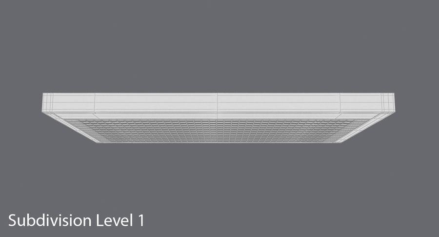 Nieuwe vluchtinformatie tekentekst royalty-free 3d model - Preview no. 16