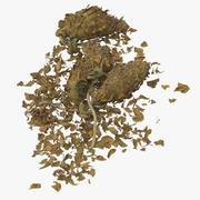 Loose Pile of Marijuana 02 3d model