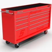 Красный инструмент для хранения 3d model