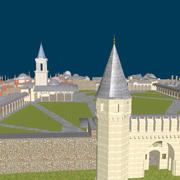Palace called Topkapi 3d model