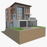Rest House 01 3d model
