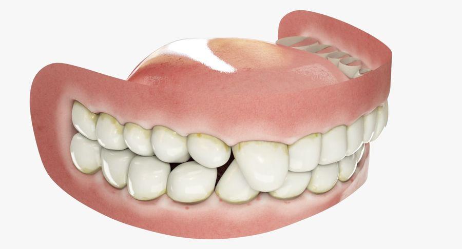牙齿和牙龈和舌头 royalty-free 3d model - Preview no. 5