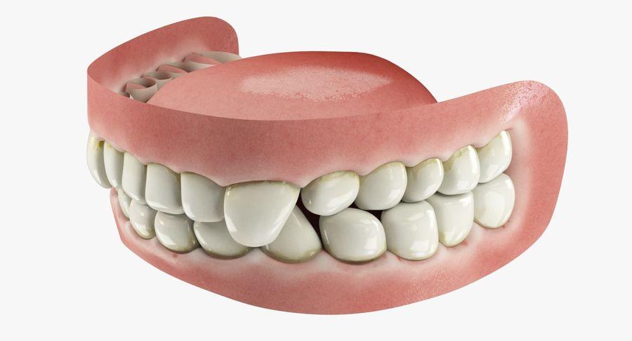 牙齿和牙龈和舌头 royalty-free 3d model - Preview no. 4