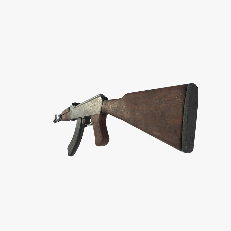 Assalto AK 47 royalty-free 3d model - Preview no. 4