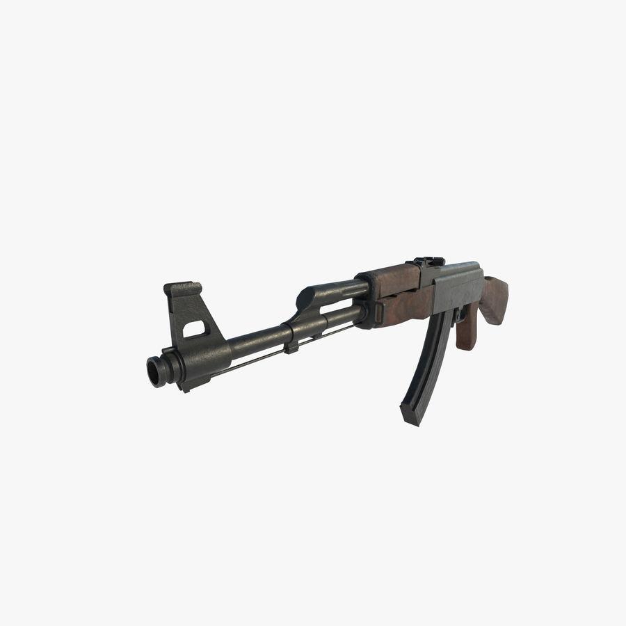 Assalto AK 47 royalty-free 3d model - Preview no. 5