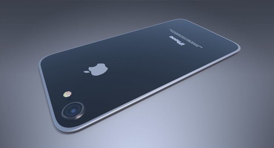 Apple iPhone Concept royalty-free 3d model - Preview no. 8