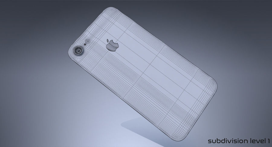 Apple iPhone Concept royalty-free 3d model - Preview no. 11