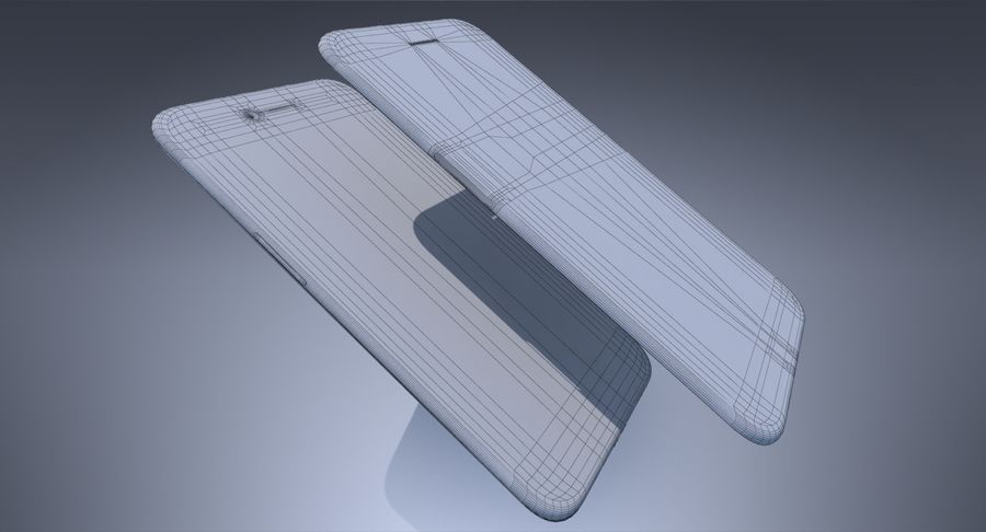 Apple iPhone-koncept royalty-free 3d model - Preview no. 13