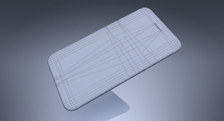 Apple iPhone-koncept royalty-free 3d model - Preview no. 12