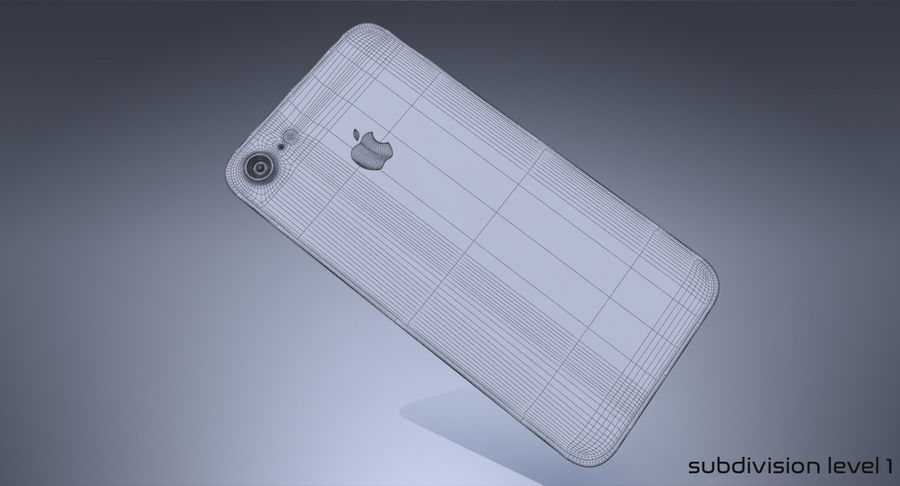 Apple iPhone-koncept royalty-free 3d model - Preview no. 11