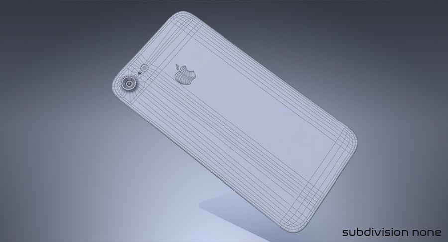 Apple iPhone Concept royalty-free 3d model - Preview no. 10