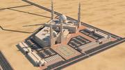 Mezquita 1 modelo 3d