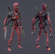 Deadpool - CAT Rig 3d model