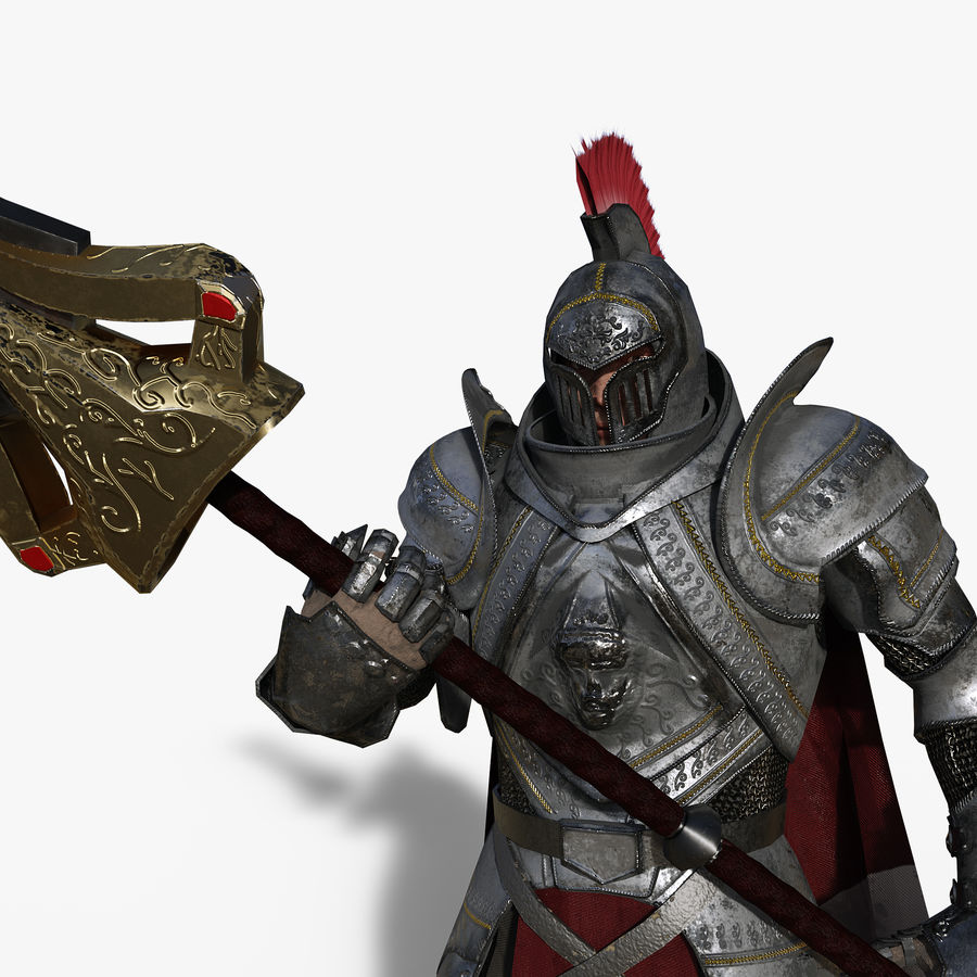 Knight royalty-free 3d model - Preview no. 5
