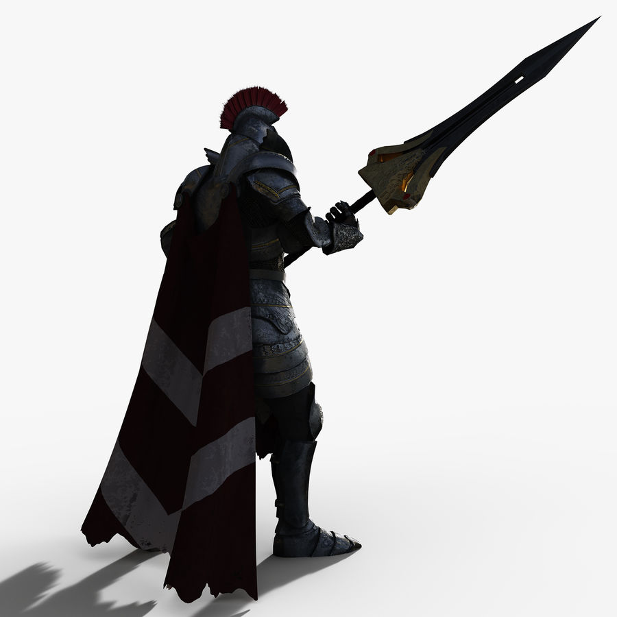 Knight royalty-free 3d model - Preview no. 3