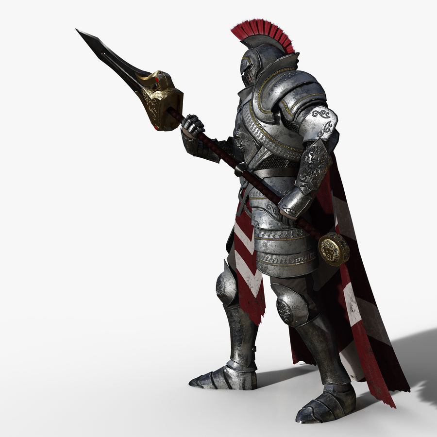 Knight royalty-free 3d model - Preview no. 4