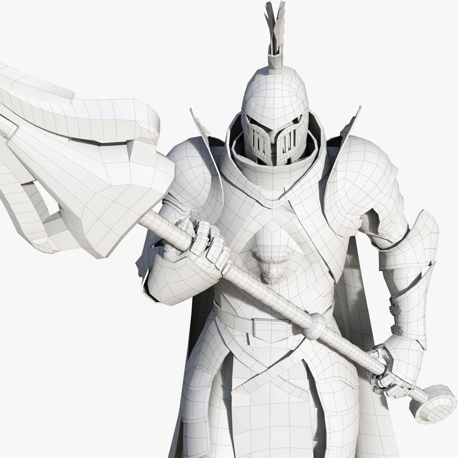 Knight royalty-free 3d model - Preview no. 18