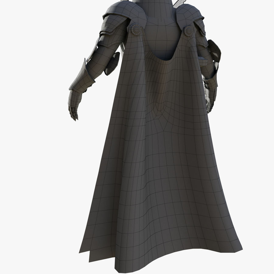 Knight royalty-free 3d model - Preview no. 17