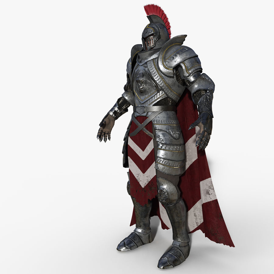 Knight royalty-free 3d model - Preview no. 9