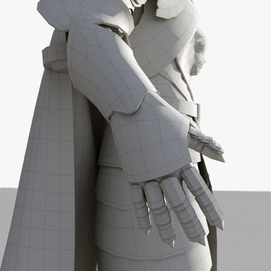 Knight royalty-free 3d model - Preview no. 15