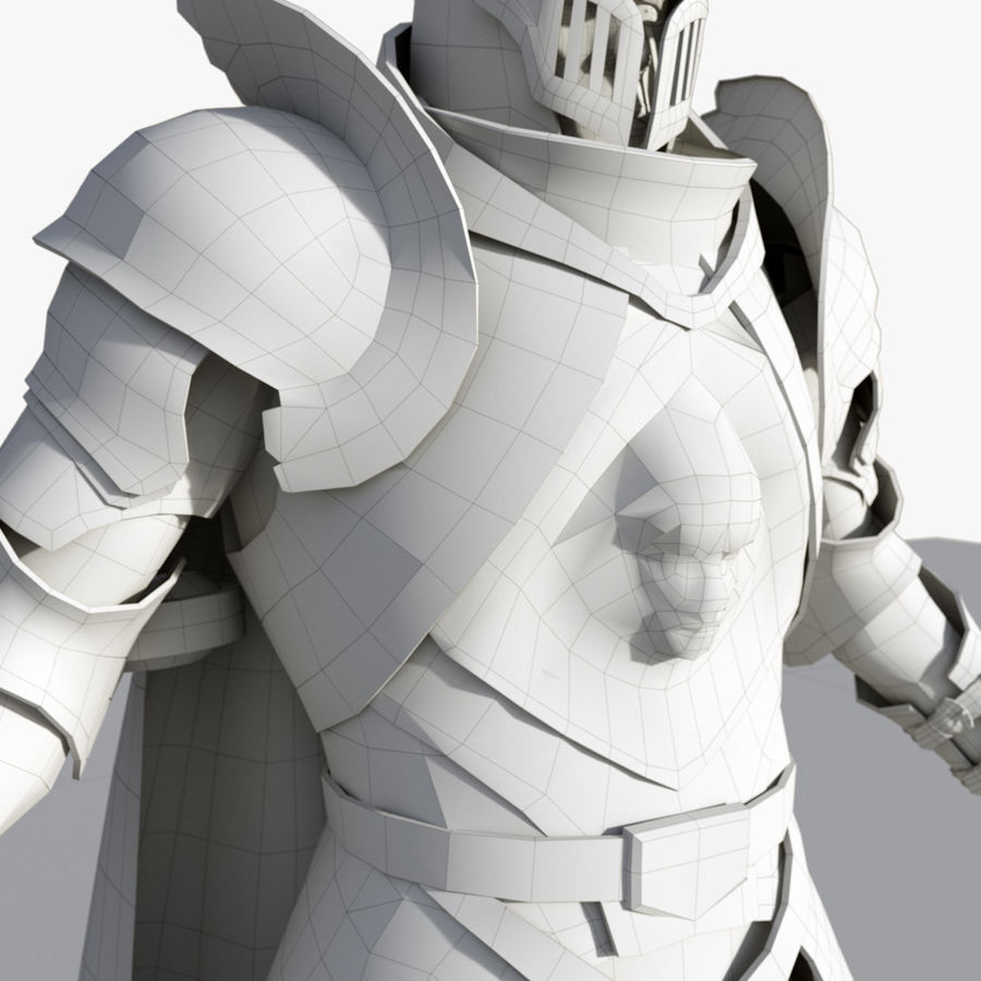 Knight royalty-free 3d model - Preview no. 14