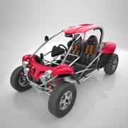 Dune Buggy Haute précision 3d model
