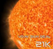 Vray Sun Real 21K 3d model