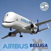 Airbus Beluga XL 3d model